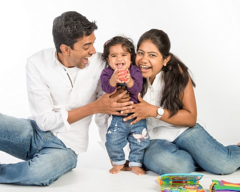 Family portraits by Pinner Portrait Photography at GP1 Photo Studio Harrow